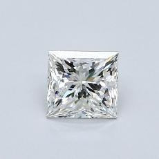 0.70-Carat Princess Diamond ASTOR F VS2