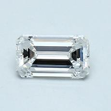 Recommended Stone #4: 0.80-Carat Emerald Cut Diamond