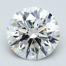 Recommended Stone #1: 2.50-Carat Round Cut Diamond