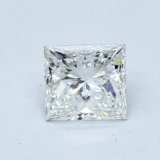 0.71-Carat Princess Diamond Good F VVS2