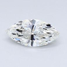 0.58-Carat Marquise Diamond Very Good G SI1