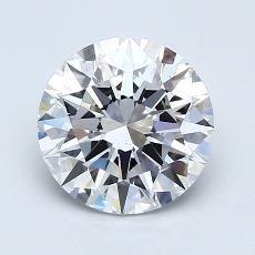 1.50 Carat 圓形 Diamond 理想 E VS2