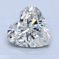 1,50-Carat Heart Diamond Very Good I SI2
