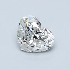 Recommended Stone #1: 0.81-Carat Heart Cut Diamond