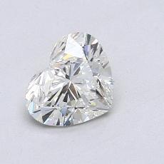 Recommended Stone #1: 0.92-Carat Heart Cut Diamond