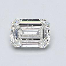 Recommended Stone #4: 0.96-Carat Emerald Cut Diamond