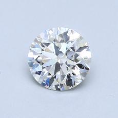 0.75 Carat 圆形 Diamond 理想 J VVS1