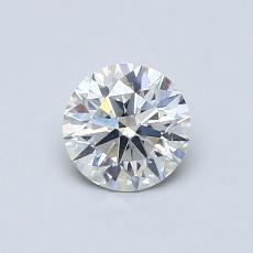 0.60-Carat Round Diamond Ideal G SI2