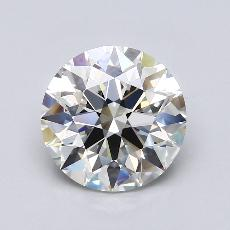 Recommended Stone #3: 3.16-Carat Round Cut Diamond
