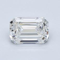 Recommended Stone #2: 1,21-Carat Emerald Cut Diamond