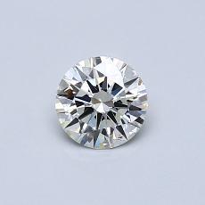 0,41-Carat Round Diamond Ideal J SI1