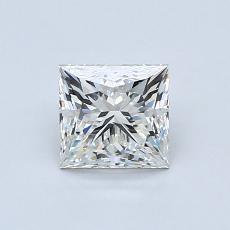 0.91-Carat Princess Diamond ASTOR I IF