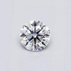 Recommended Stone #3: 0.41-Carat Round Cut Diamond