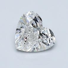 Target Stone: 1.01-Carat Heart Cut Diamond