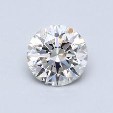 0,70 Carat Rond Diamond Idéale H VS1