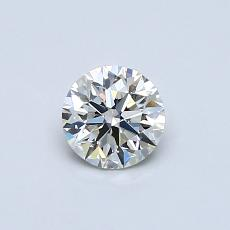 Recommended Stone #1: 0.45-Carat Round Cut Diamond