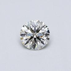 Recommended Stone #3: 0,37-Carat Round Cut Diamond