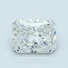 3.01-Carat Radiant Diamond Very Good F VS2