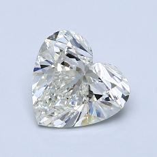 Target Stone: 1.03-Carat Heart Cut Diamond