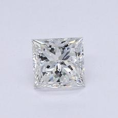 推薦鑽石 #3: 0.50  克拉公主方形鑽石