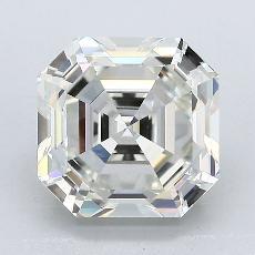 Recommended Stone #2: 3,11-Carat Asscher Cut Diamond