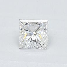 Recommended Stone #4: 0.47-Carat Princess Cut Diamond