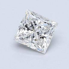 Recommended Stone #4: 0.92-Carat Princess Cut Diamond