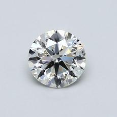 推荐宝石 3:0.60 克拉圆形切割