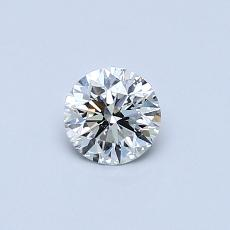 Recommended Stone #4: 0.36-Carat Round Cut Diamond
