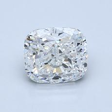 Pierre cible: Diamant taille coussin 1,20 carats