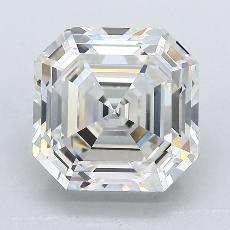Recommended Stone #3: 3,25-Carat Asscher Cut Diamond