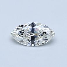 目标宝石:0.45 克拉榄尖形钻石