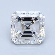 1.52-Carat Asscher Diamond Very Good D VS1