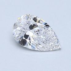 Recommended Stone #2: 0.63-Carat Pear Shaped