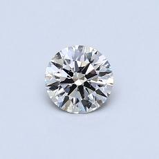 Recommended Stone #1: 0,38-Carat Round Cut Diamond