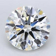 Recommended Stone #3: 5.22-Carat Round Cut Diamond