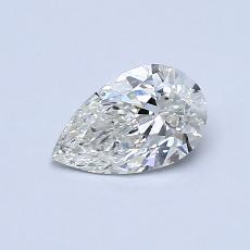 推薦鑽石 #4: 0.51 克拉梨形鑽石