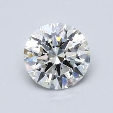 1.01 Carat 圆形 Diamond 理想 G IF