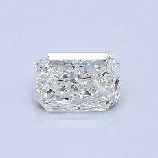 Recommended Stone #1: 0.50-Carat Radiant Cut Diamond