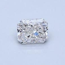 推荐宝石 3:0.53 克拉雷地恩明亮式钻石