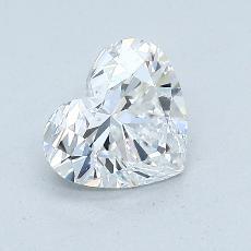 Pierre recommandée n°4: Diamant taille cœur 0,92carat