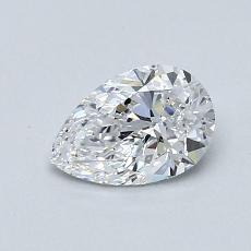 Recommended Stone #4: 0.60-Carat Pear Cut Diamond
