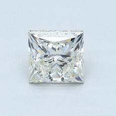 1.12-Carat Princess Diamond Good K SI2
