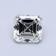 Pierre recommandée n°4: Diamant taille Asscher 0,96 carat