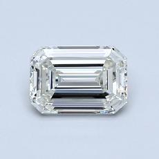Recommended Stone #2: 0.83-Carat Emerald Cut Diamond