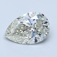 Recommended Stone #1: 1.05-Carat Pear Cut Diamond