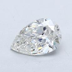 推薦鑽石 #4: 0.75 克拉梨形鑽石
