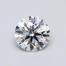 Recommended Stone #3: 0,70-Carat Round Cut