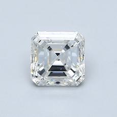 Piedra objetivo: Diamante de talla Asscher de 0.77 quilates