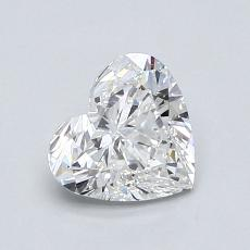 Recommended Stone #4: 0.95-Carat Heart Cut Diamond